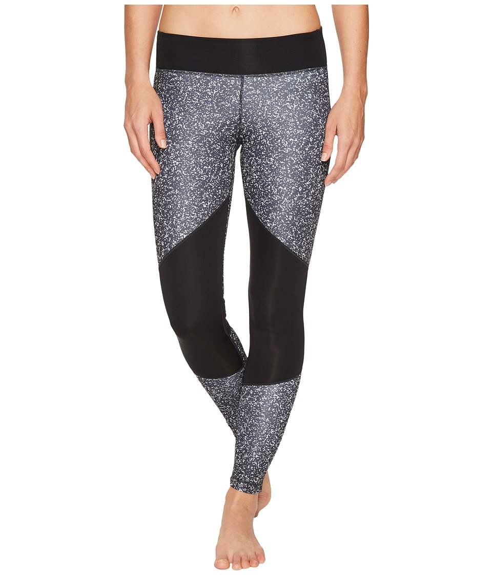 adidas - Designed-2-Move Micro Camo Print Long Tights (Black/Print/Black) Women's Casual Pants