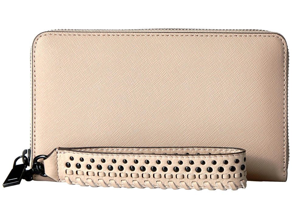 Rebecca Minkoff - Tech Wallet with Wristlet (Nude) Handbags