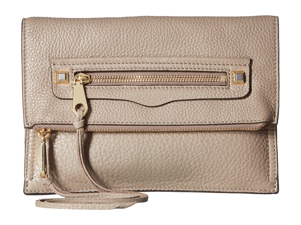 Rebecca Minkoff Small Regan Clutch (Mushroom) Clutch Handbags