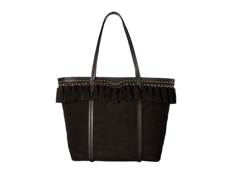 Rebecca Minkoff - Multi Tassel Tote (Black) Tote Handbags