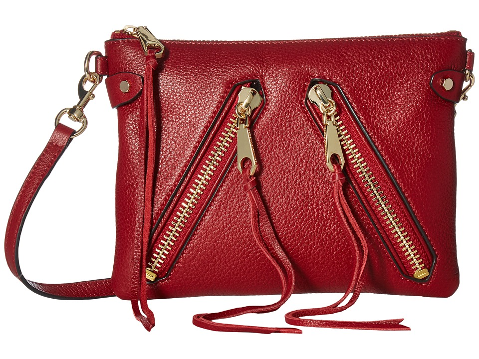Rebecca Minkoff - Moto Jon Crossbody (Deep Red) Cross Body Handbags