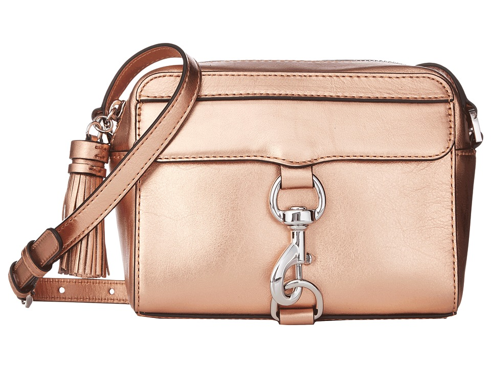 Rebecca Minkoff - Metallic Mab Camera Bag (Rose Gold) Bags