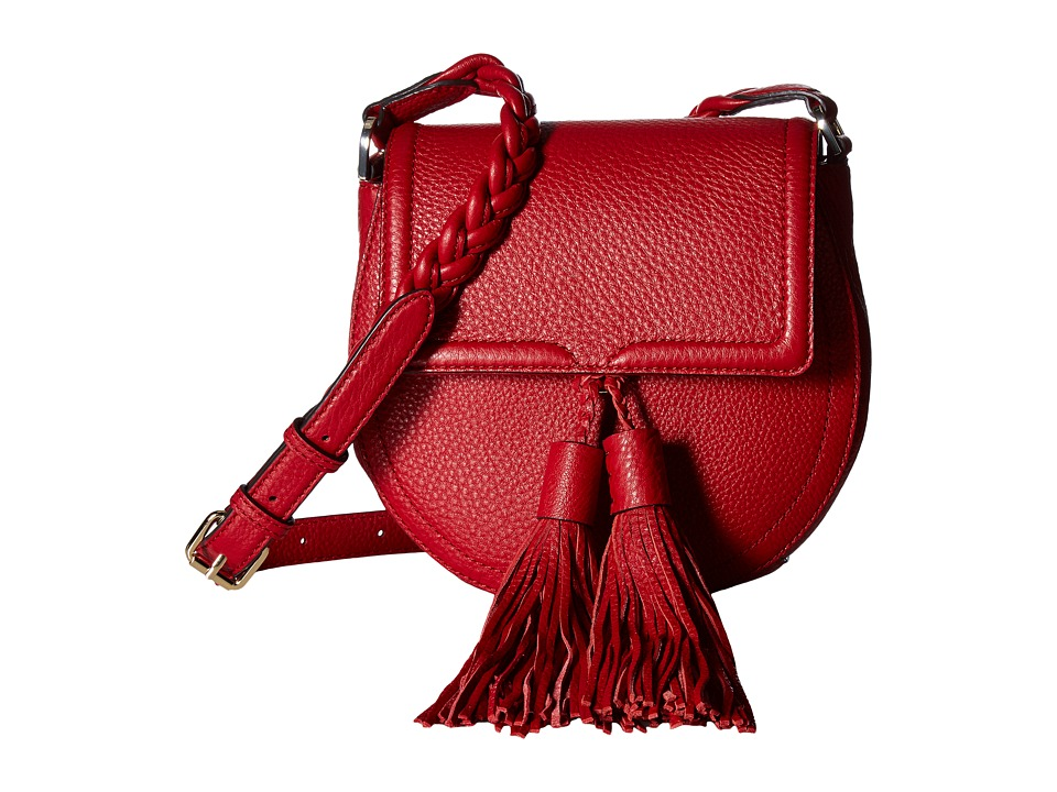 Rebecca Minkoff - Isobel Saddle Bag (Deep Red) Handbags