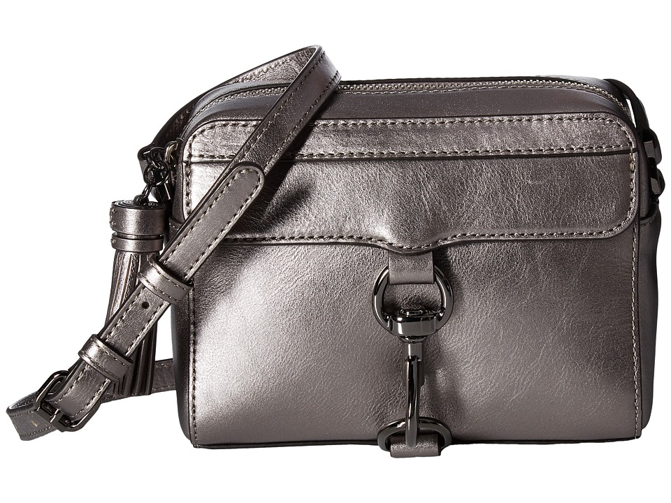 Rebecca Minkoff - Metallic Mab Camera Bag (Gunmetal) Bags