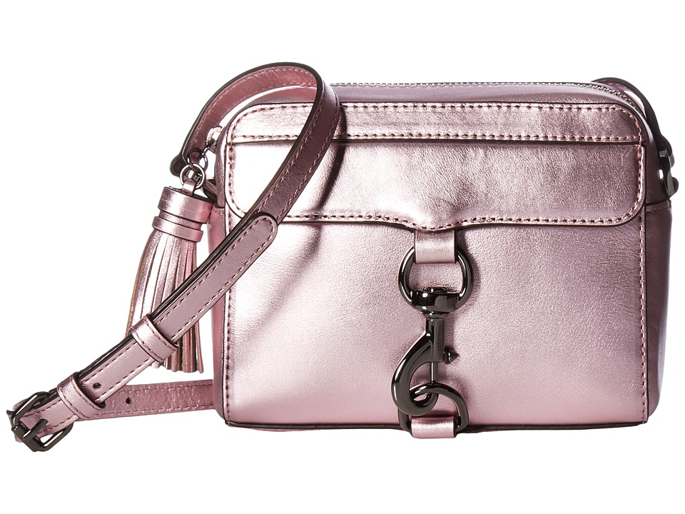 Rebecca Minkoff - Metallic Mab Camera Bag (Metallic Pink) Bags