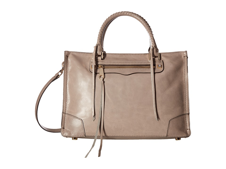 Rebecca Minkoff - Regan Satchel Tote (Mushroom) Tote Handbags