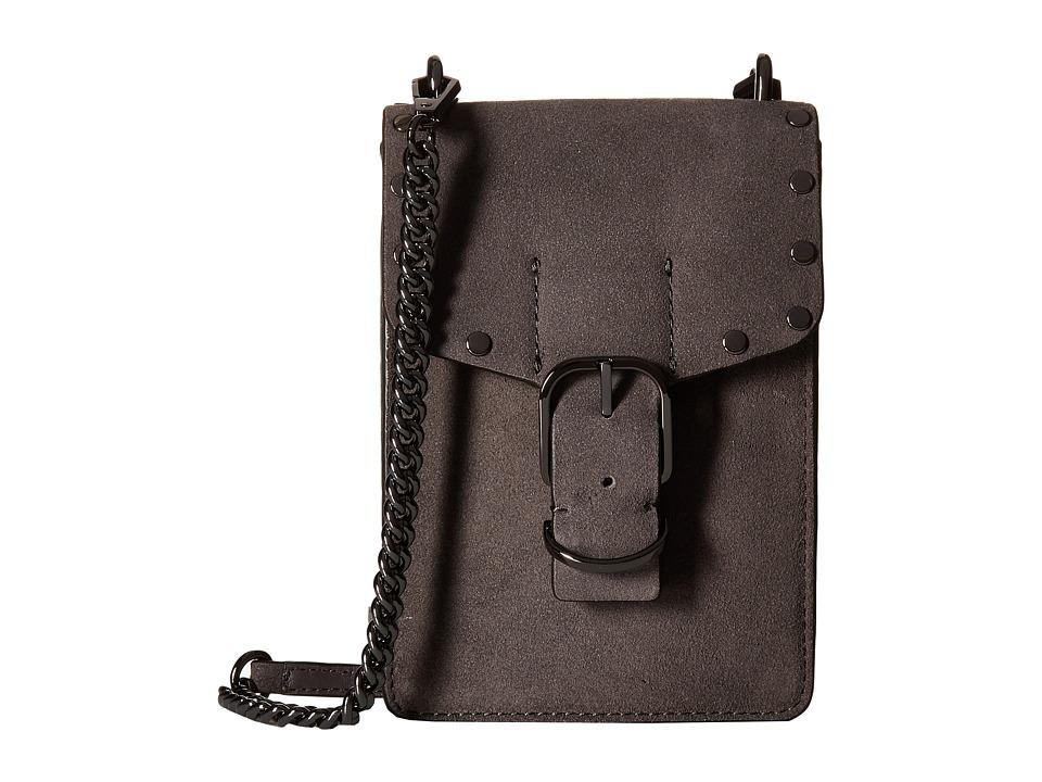 Rebecca Minkoff - Biker Phone Crossbody (New Grey) Cross Body Handbags