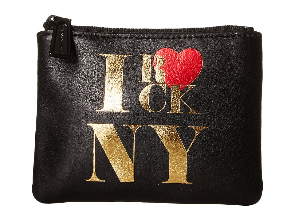 Rebecca Minkoff - Betty Pouch - I Rock Ny (Black) Travel Pouch
