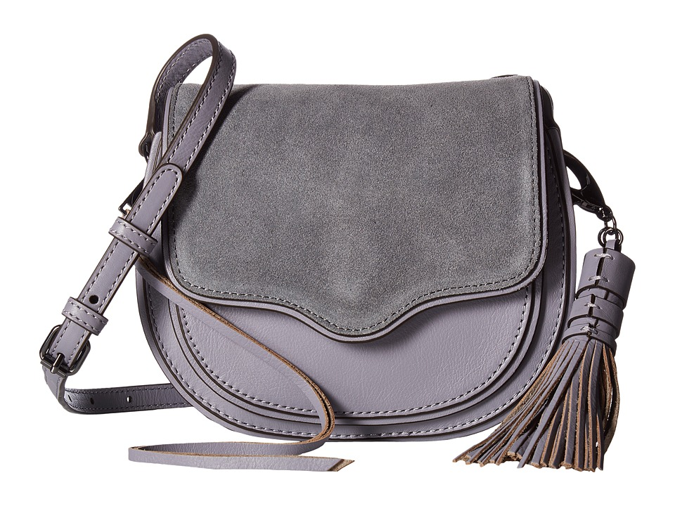 Rebecca Minkoff - Mini Suki Crossbody (Grey Denim) Cross Body Handbags