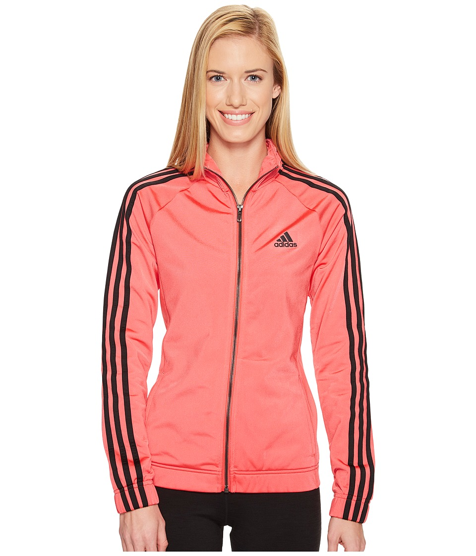 adidas - Designed-2-Move Track Top (Core Pink/Black) Women's Clothing
