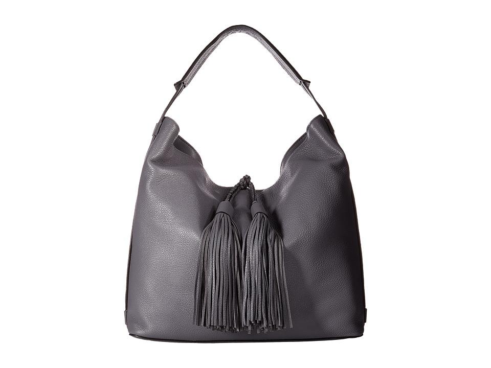 Rebecca Minkoff - Isobel Hobo (Grey Denim) Hobo Handbags