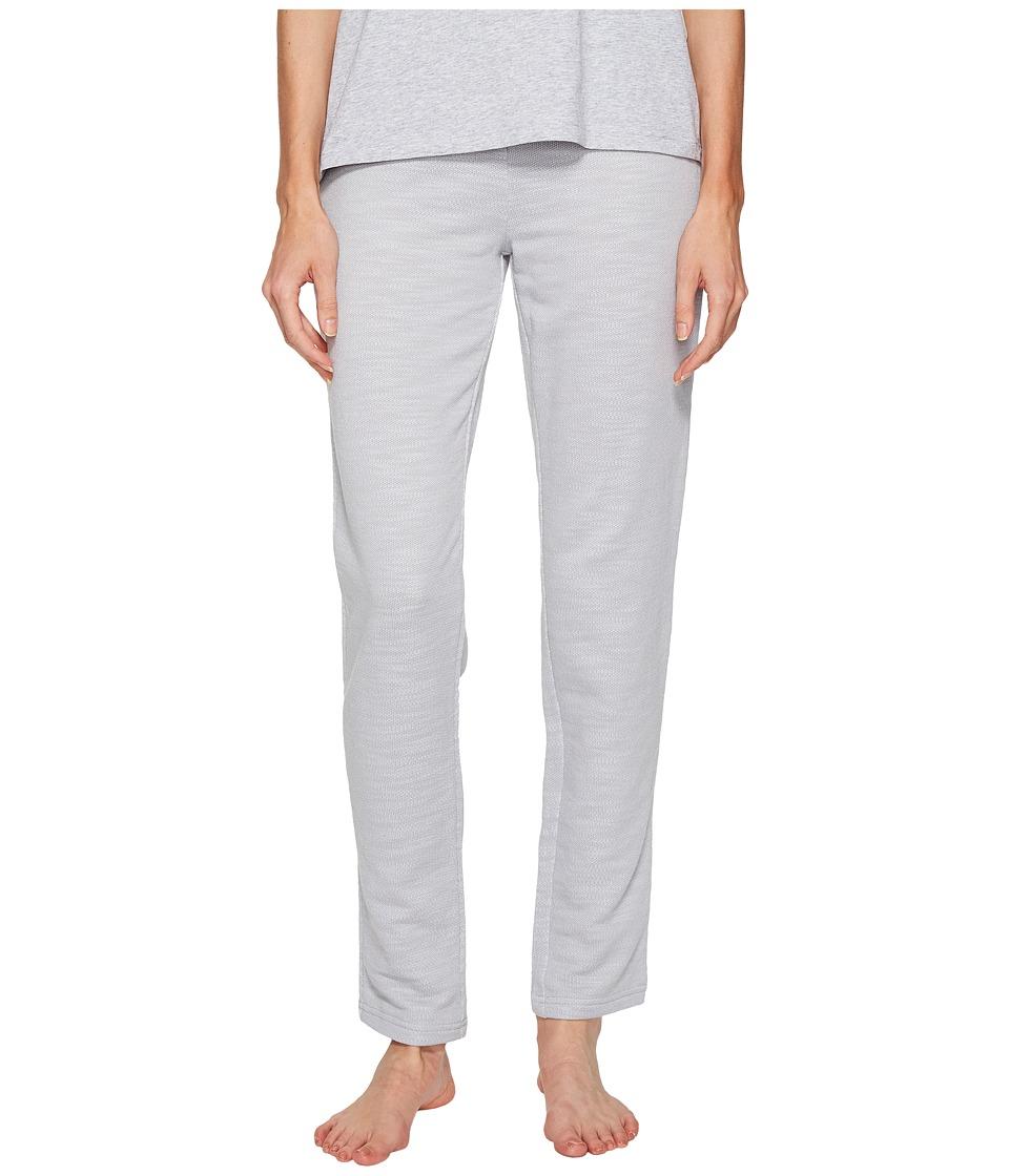 Emporio Armani - Melange Eagle Loungewear Lounge Pants (Melange Grey) Women's Pajama