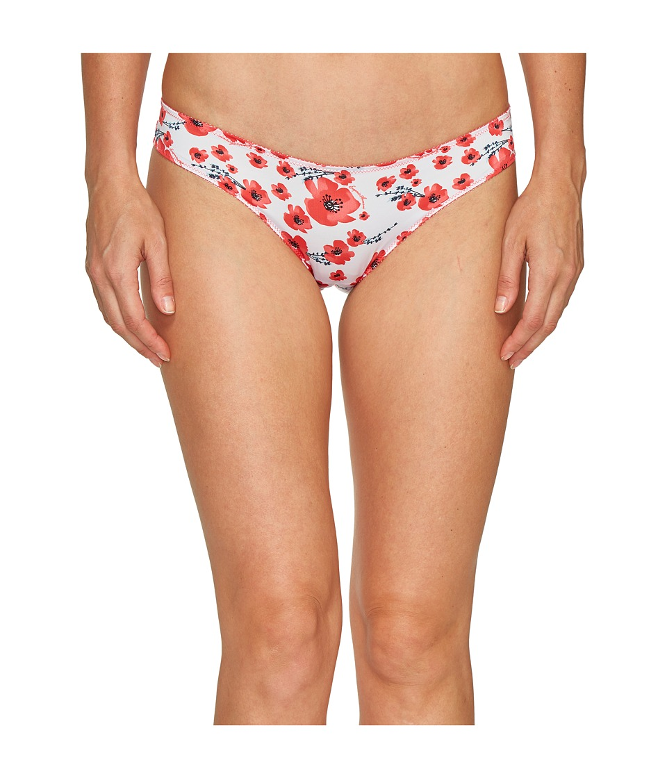 Emporio Armani - Printed Microfiber Brief (Poppy Print) Women's Underwear