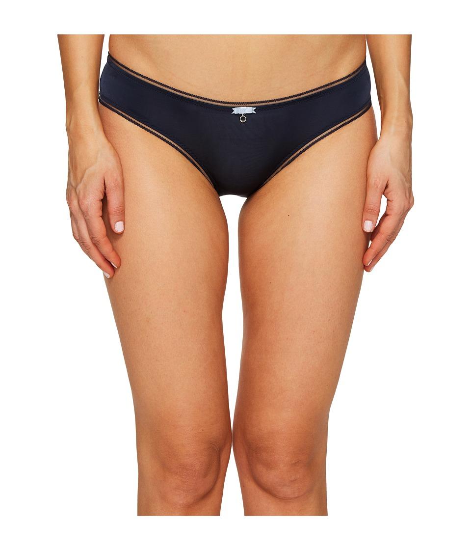 Emporio Armani - Neo Romantic Microfiber Brief (Marine/Sky) Women's Underwear