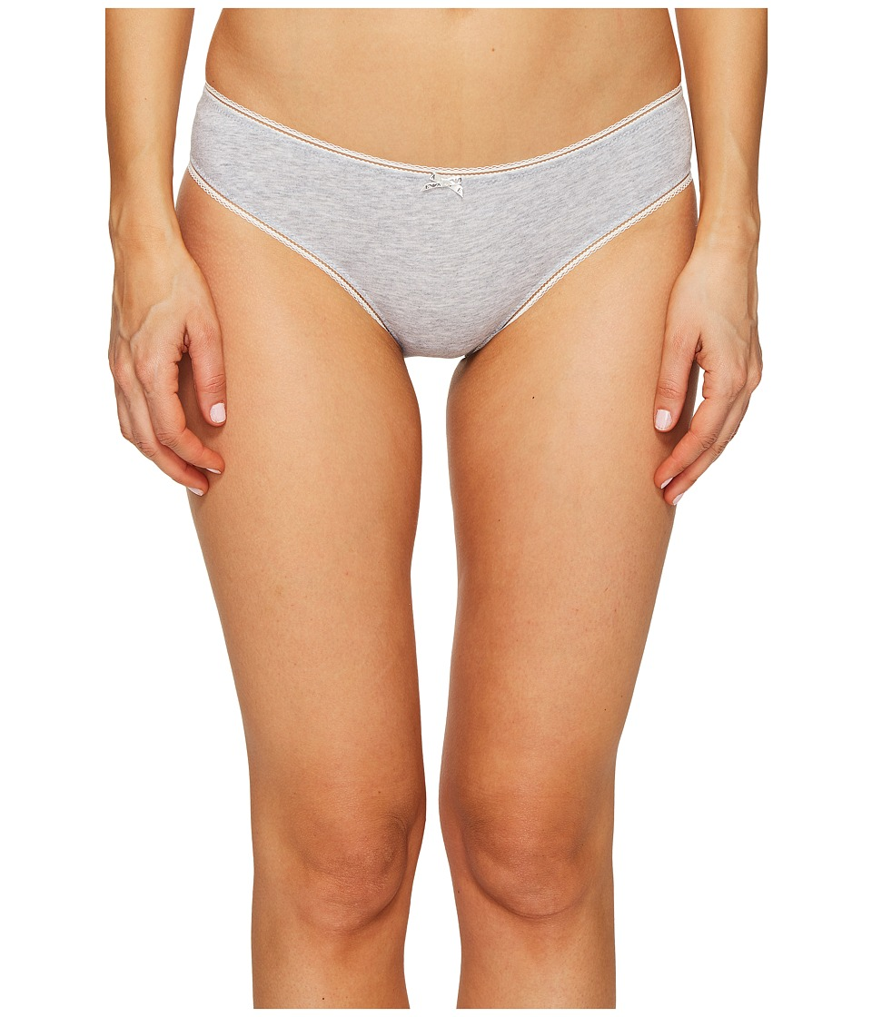 Emporio Armani - Neo Romantic Macrame Brief (Grey Melange) Women's Underwear