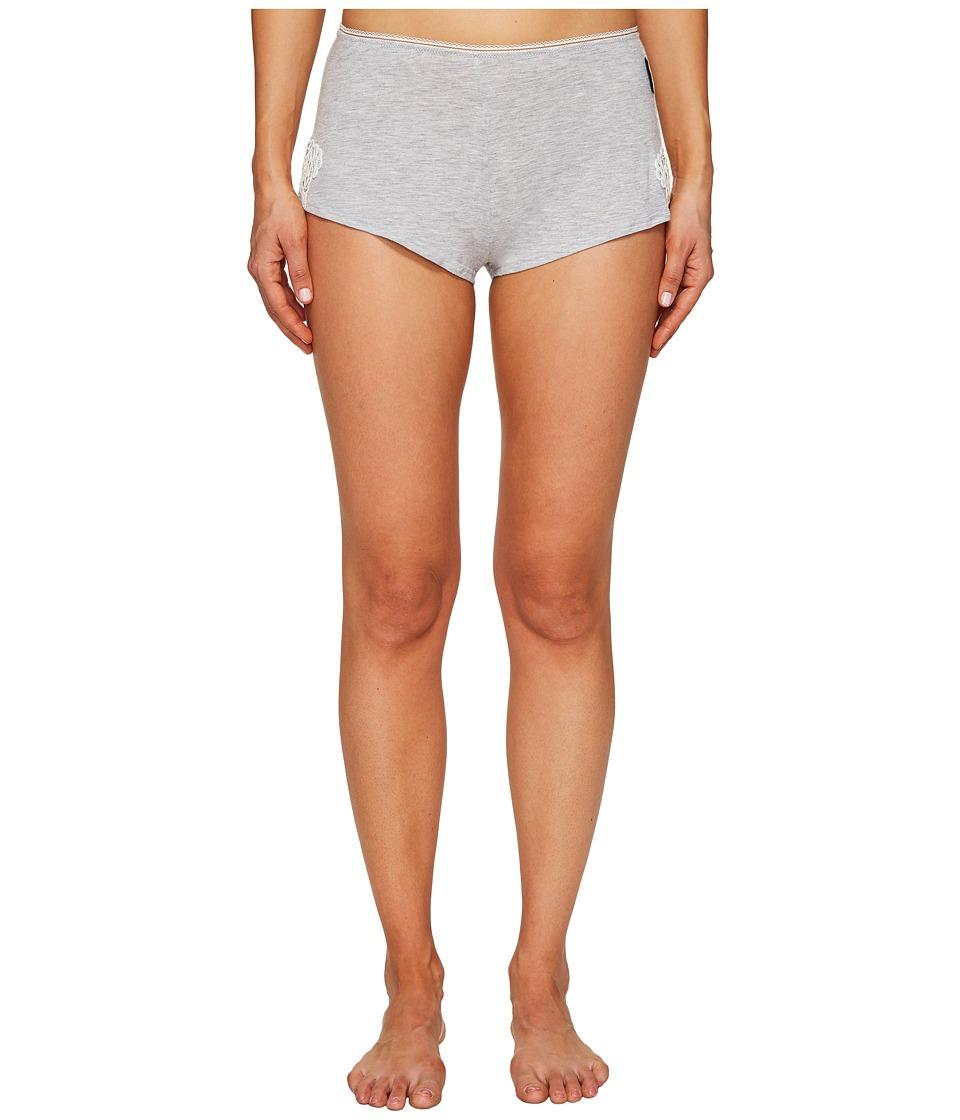 Emporio Armani - Neo Romantic Macrame Viscose Lounge Shorts (Grey Melange) Women's Pajama