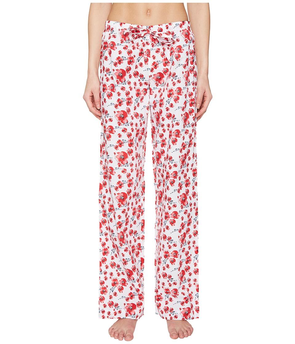 Emporio Armani - Poppy Dream Cotton Loungewear Lounge Pants (Poppy Print) Women's Pajama