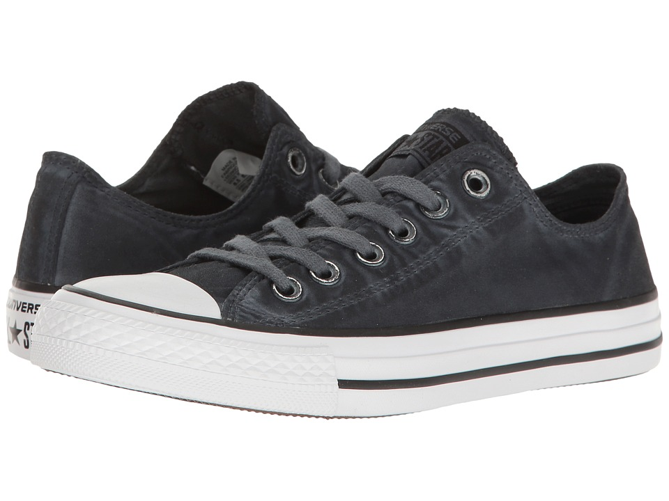 Converse - Chuck Taylor(r) All Star(r) Kent Wash Ox (Black/Black/White) Women's Classic Shoes