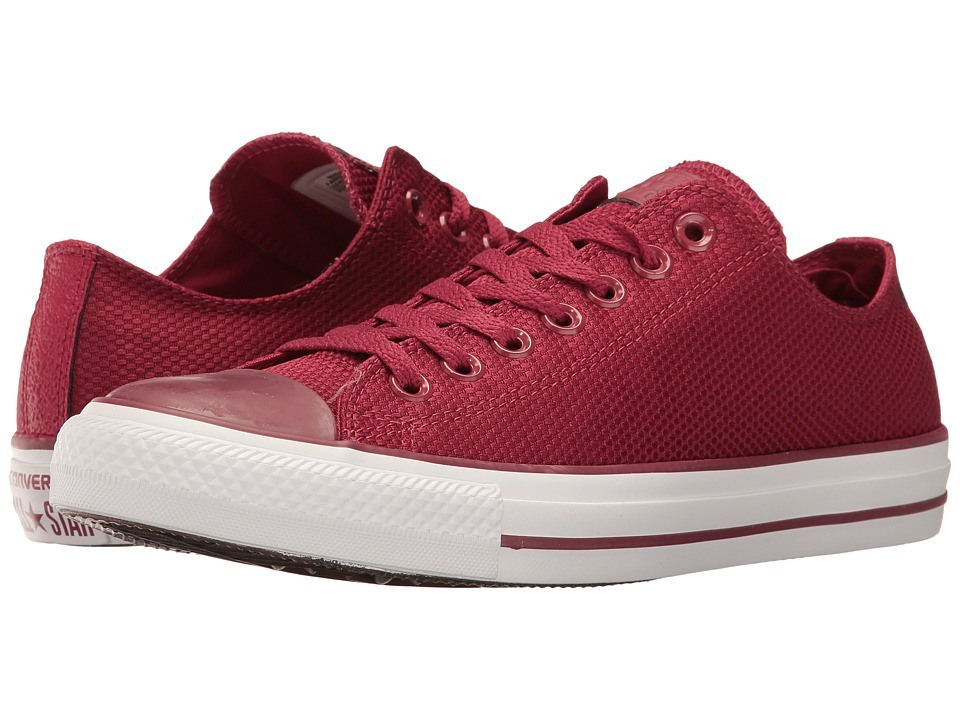 Converse - Chuck Taylor All Star Tough Textile Ox (Rhubarb/White/Brown) Classic Shoes