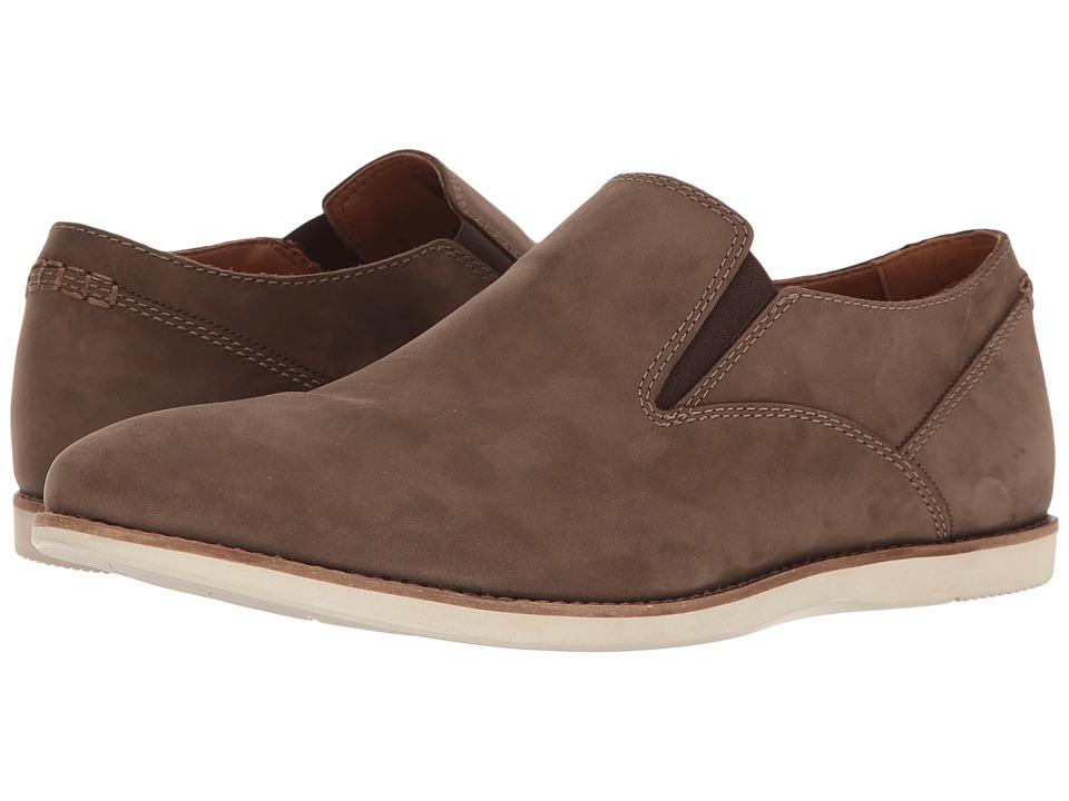 Clarks - Franson Stride (Brown Nubuck) Men's Shoes