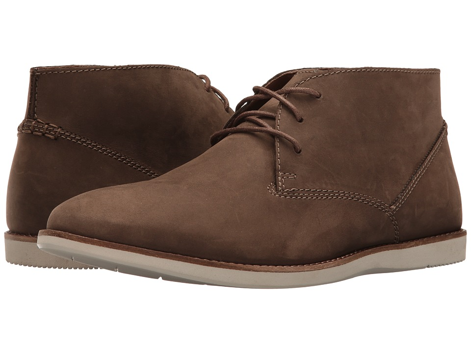 Clarks Franson Top (Brown Nubuck) Men
