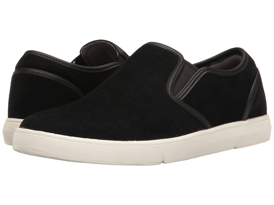 Clarks - Lander Step (Black Suede) Men's Shoes