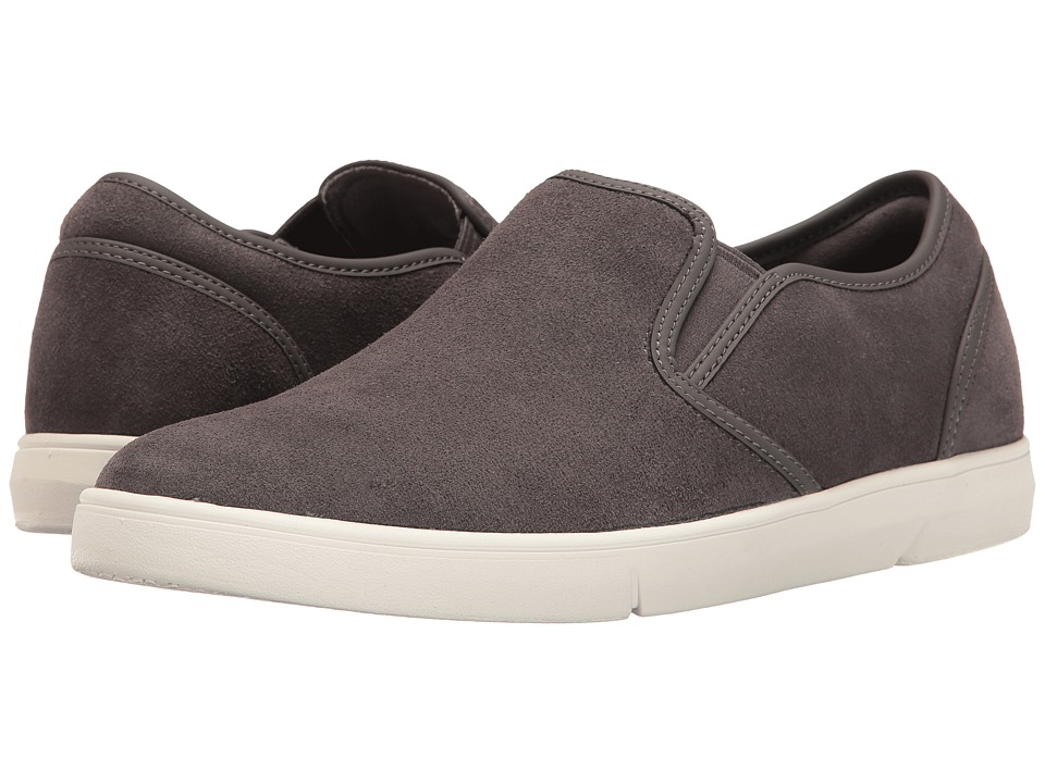 Clarks - Lander Step (Grey Suede) Men's Shoes