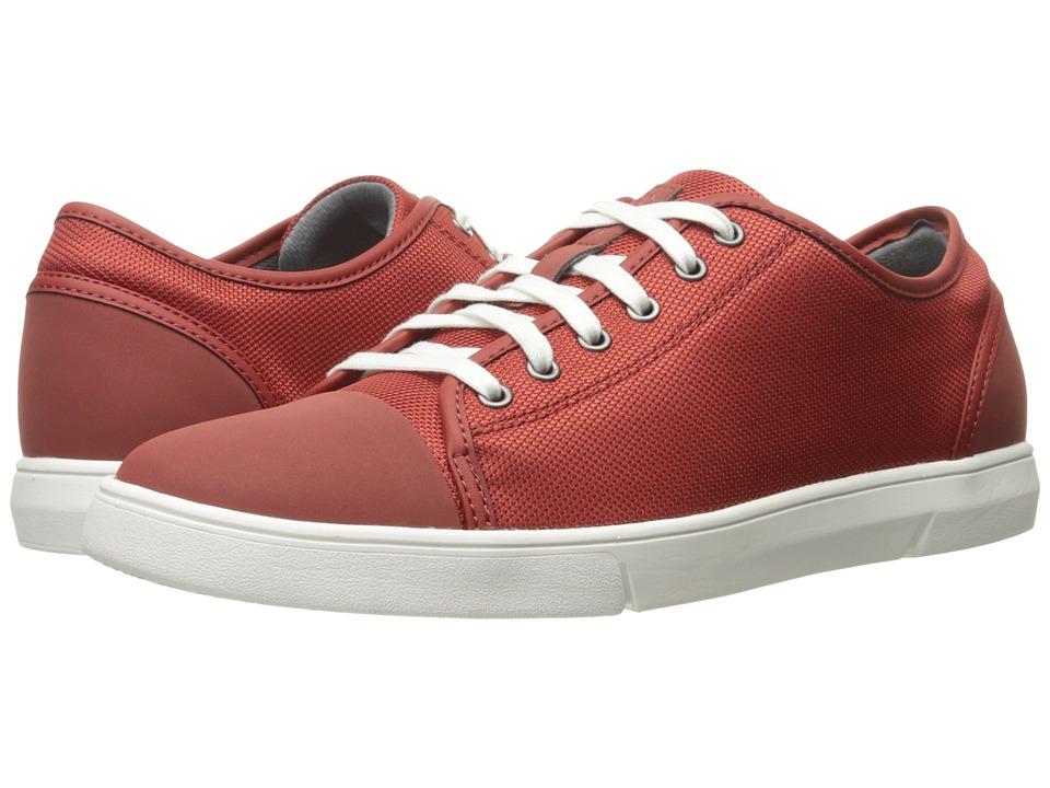 Clarks - Lander Cap (Red Combi) Men's Shoes