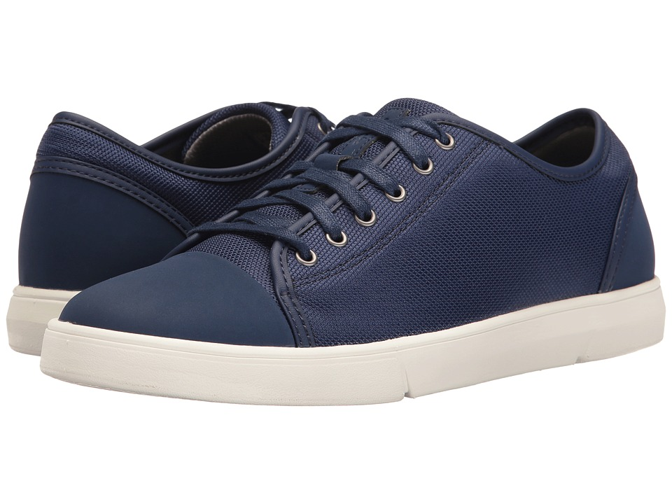 Clarks - Lander Cap (Blue Combi) Men's Shoes