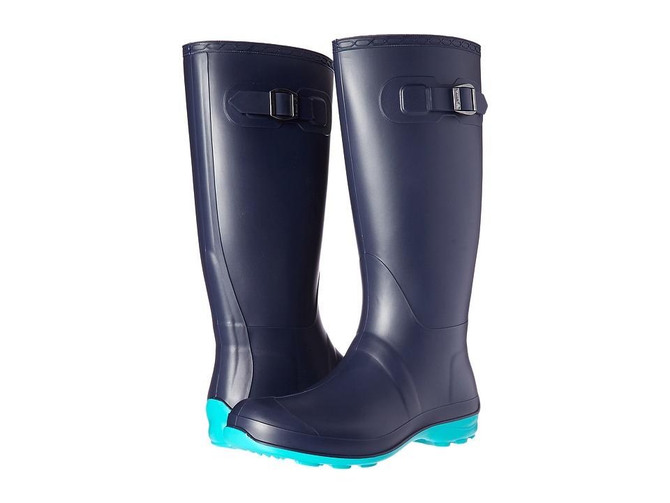 Kamik - Olivia (Navy/Turquoise) Women's Rain Boots