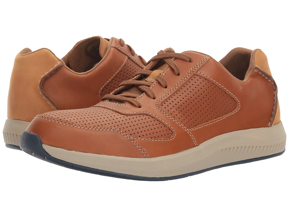 Clarks - Sirtis Mix (Tan Leather) Men's Shoes