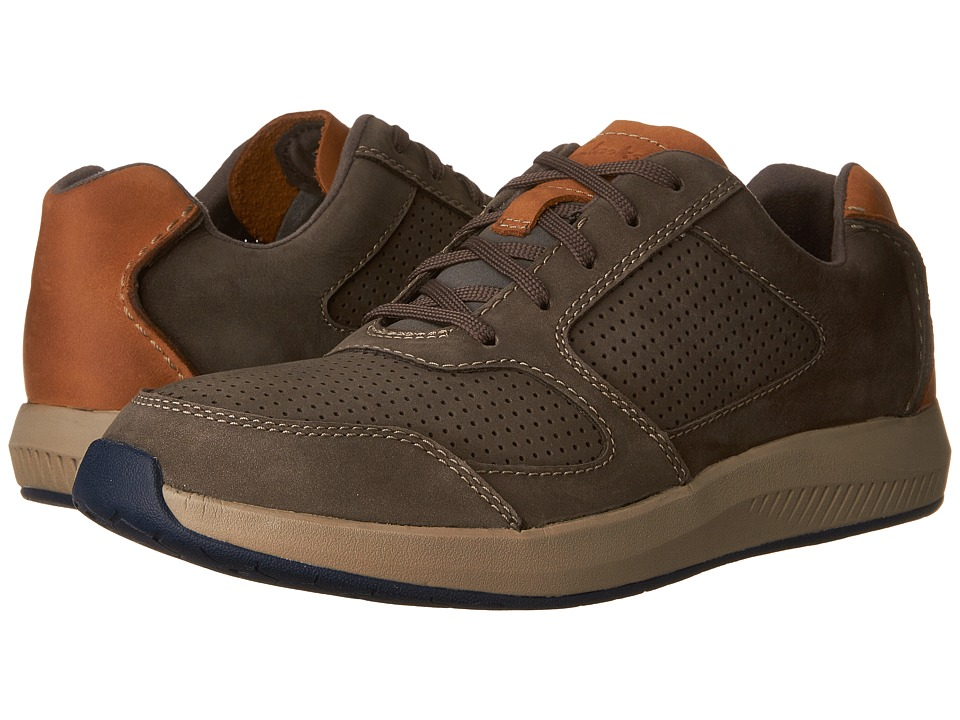 Clarks - Sirtis Mix (Grey Nubuck) Men's Shoes