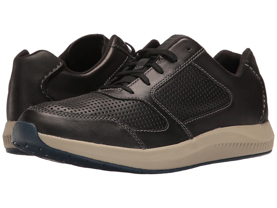 Clarks Sirtis Mix (Black Leather) Men