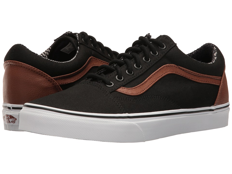 Vans - Old Skooltm ((C&L) Black/Material Mix) Skate Shoes