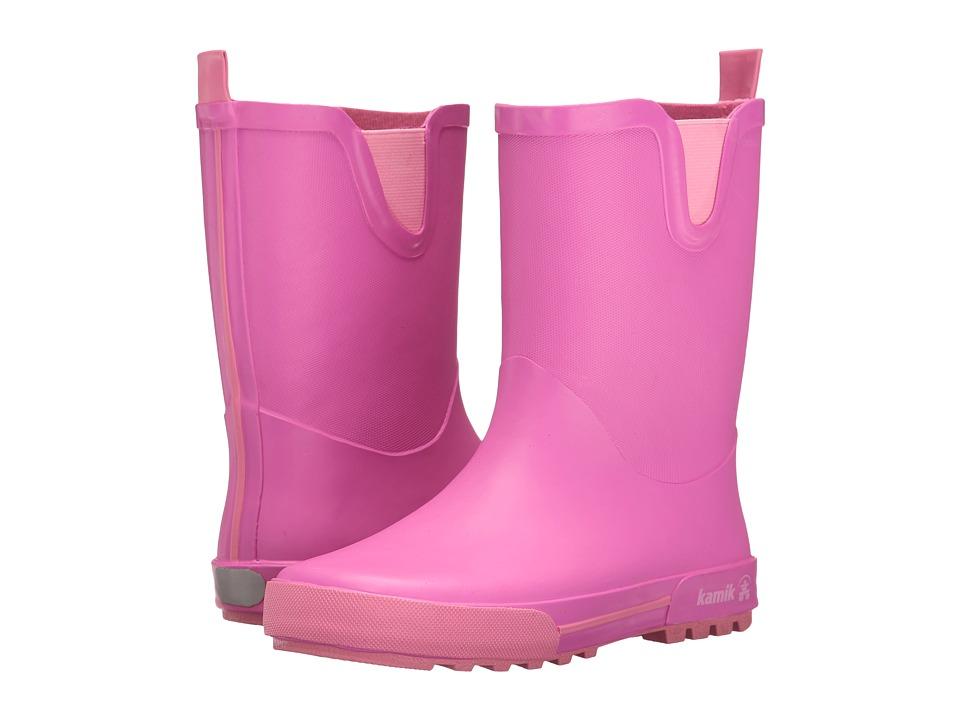 Kamik Kids Rainplay (Little Kid) (Magenta) Girls Shoes