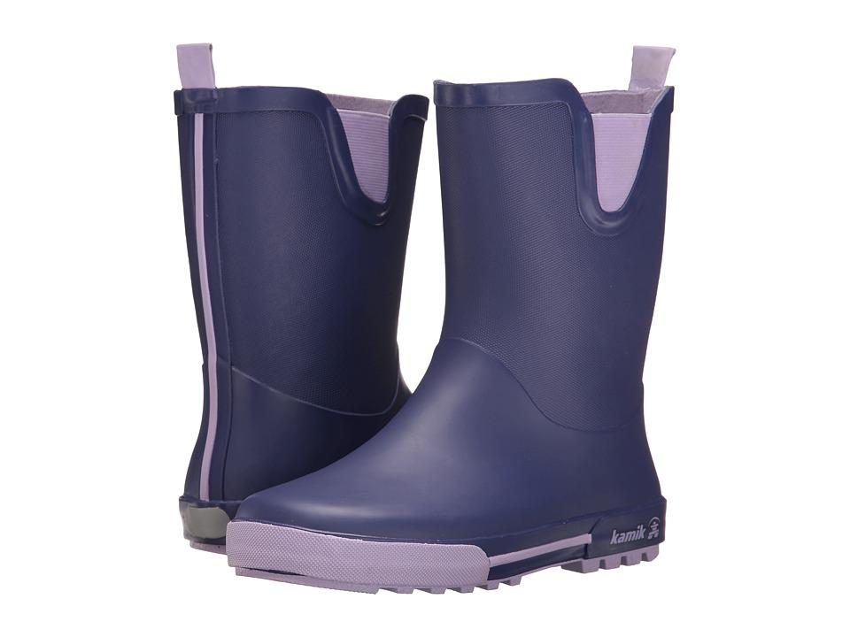 Kamik Kids Rainplay (Little Kid) (Purple) Girls Shoes