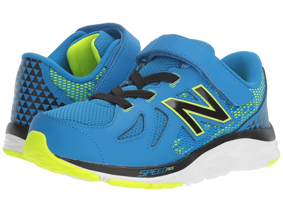 New Balance Kids 790v6 (Little Kid) (Blue/Green) Boys Shoes