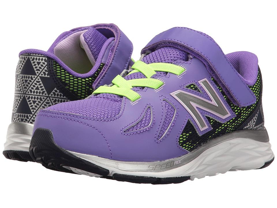 New Balance Kids 790v6 (Little Kid) (Purple/Blue) Girls Shoes