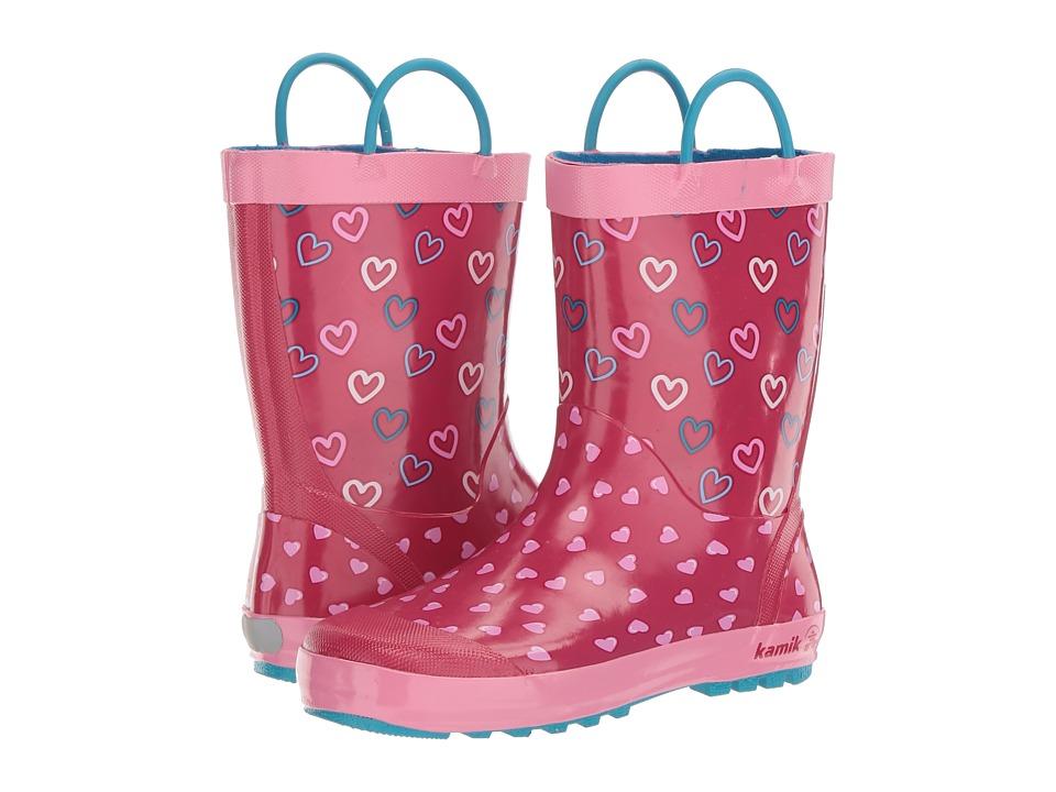 Kamik Kids Cherish (Little Kid) (Bright Rose) Girls Shoes