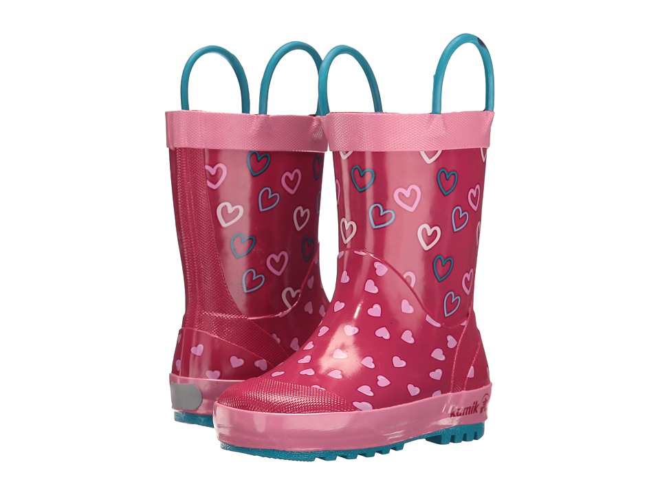 Kamik Kids Cherish (Infant/Toddler) (Bright Rose) Girls Shoes