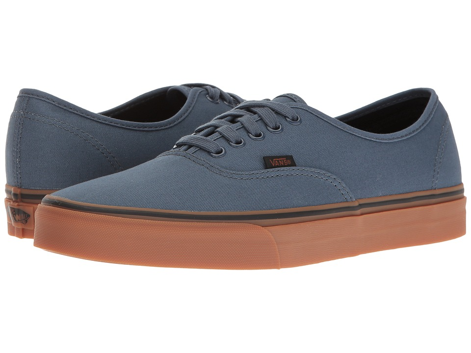 Vans - Authentictm ((Gum) Dark Slate/Black) Skate Shoes