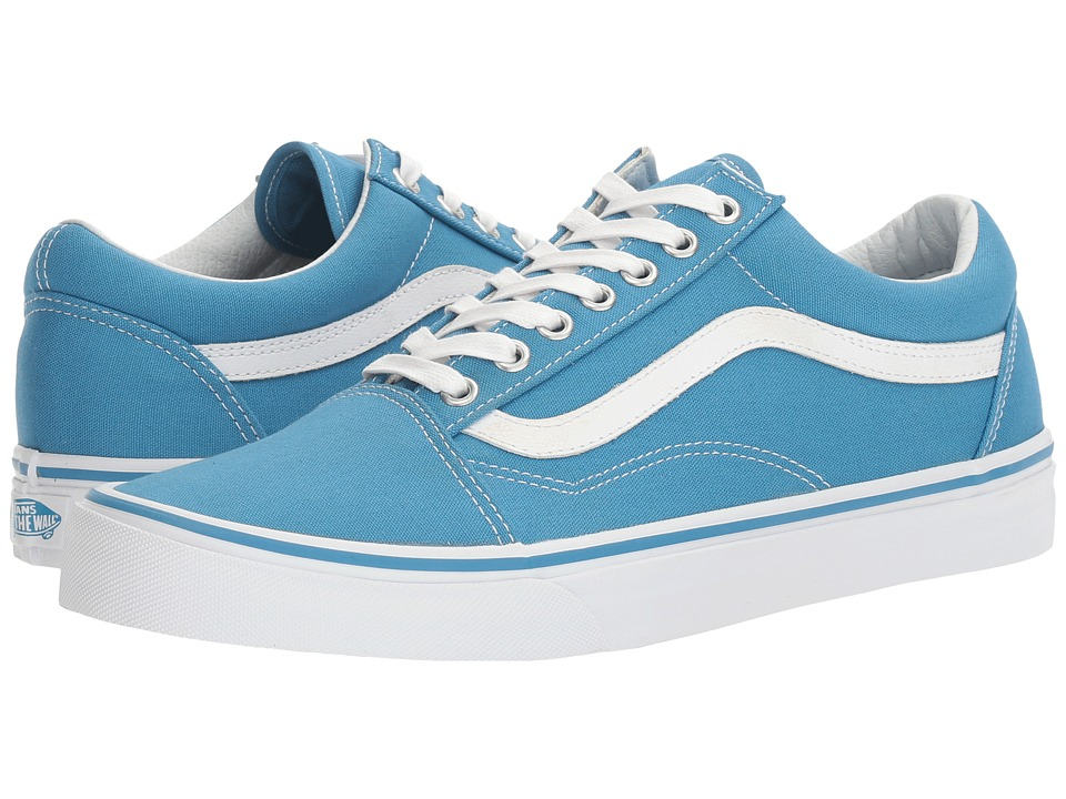 Vans - Old Skooltm ((Canvas) Cendre Blue/True White) Skate Shoes