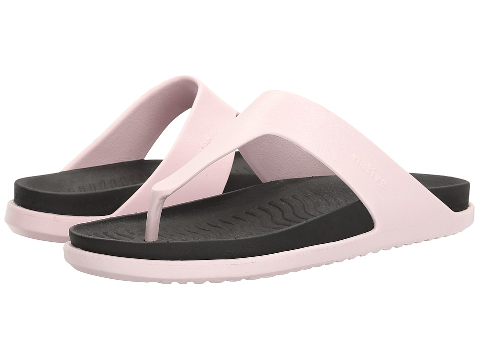 Native Shoes - Turner LX (Milk Pink/Jiffy Black) Sandals