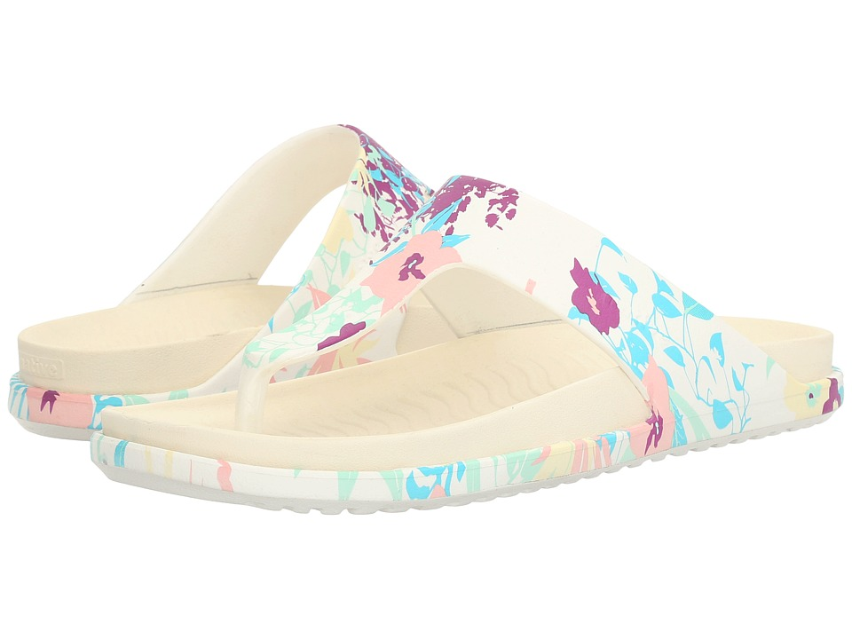 Native Shoes - Turner LX (Shell White/Bone White/Bouquet) Sandals
