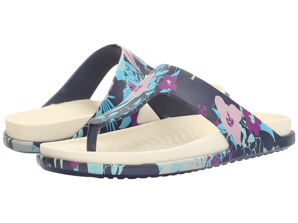 Native Shoes - Turner LX (Regatta Blue/Bone White/Bouquet) Sandals