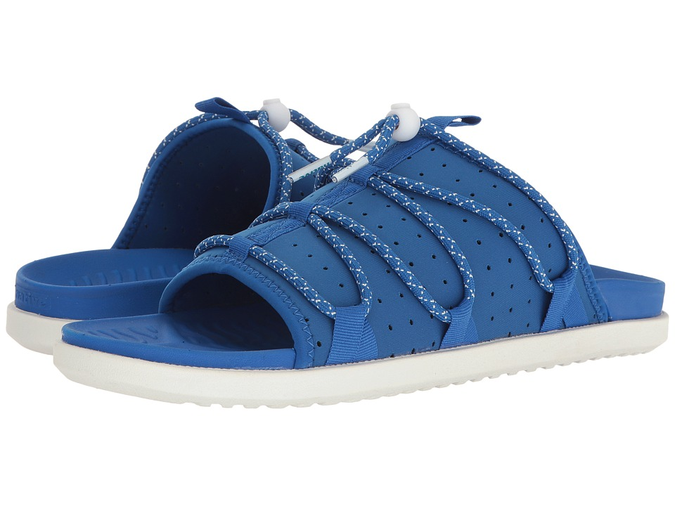 Native Shoes - Palmer (Victoria Blue/Victoria Blue/Shell White) Sandals