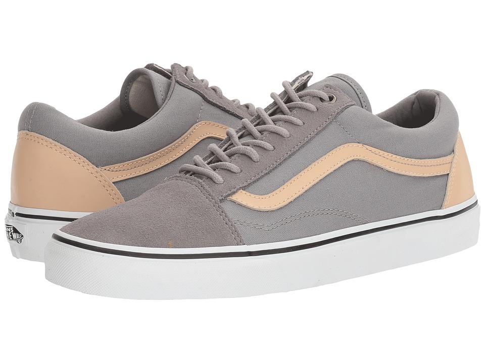 Vans - Old Skool ((Veggie Tan) Frost Gray/True White) Skate Shoes