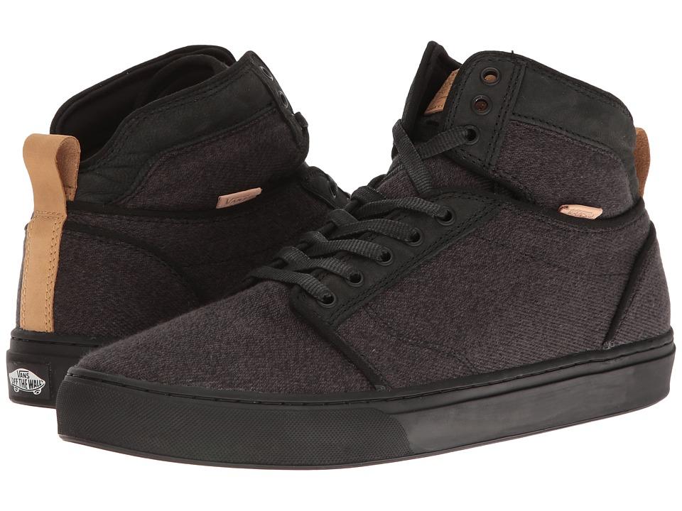 Vans Alomar ((Stealth Fleck) Black/Black) Skate Shoes
