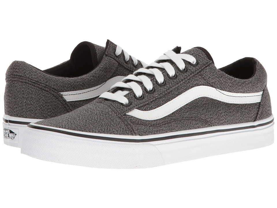 Vans - Old Skool ((Suiting) Black/True White) Skate Shoes