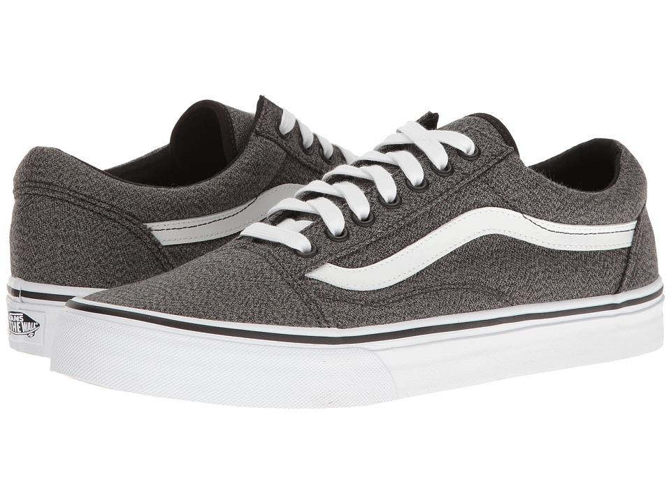 Vans - Old Skool ((Suiting) Black/True White) Skate Shoes